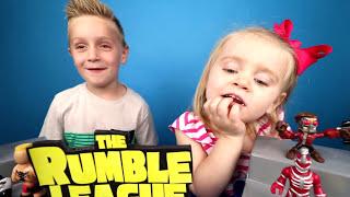 Download Kids Play Shake Rumble Draft! Spiderman Toys, Batman, Avengers & Pokemon by KIDCITY Video