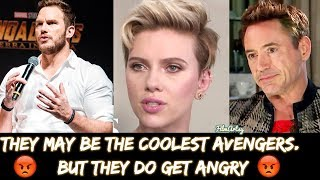 Download Avengers: Infinity War Cast Getting Angry At Interviews - Cringiest Moments Video