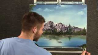 Download Paint with Kevin Hill - Peaceful Mountain Lake Video