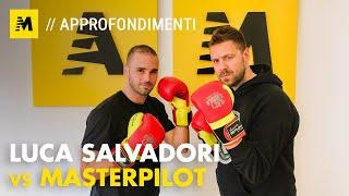 Download Luca Salvadori vs Masterpilot su Imola SBK Gara2: pace fatta? Video