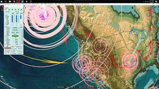 Download 1/23/2018 - Very large M7.9 (M8.3) Earthquake in Alaska - West coast USA on watch Video