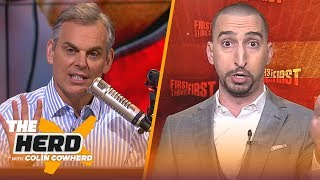 Download Nick Wright talks Chiefs vs Patriots and waning patience for LeBron and the Lakers | THE HERD Video