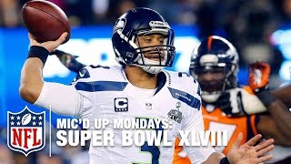 Download Russell Wilson's Mic'd Up Super Bowl XLVIII | #MicdUpMondays | NFL Video