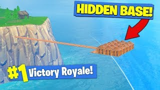 Download Building A *SECRET BASE* In Fortnite Battle Royale! Video