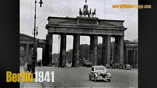 Download Berlin 1941 - Berlin during WWII - private footage Video