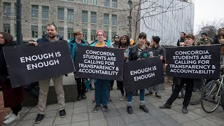 Download Students protest sexual violence at Concordia and McGill Video