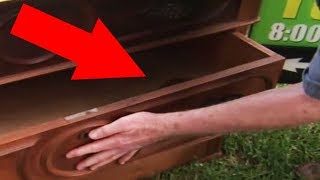 Download Man Who Buys A Dresser For $100 Finds A Secret Drawer With Something Astonishing Inside Video