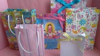 Download Como hacer una bolsa de papel para regalo Video