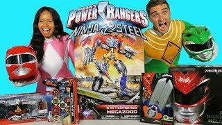 Download Power Rangers Toy Challenge Pink Ranger Vs Green Ranger ! || Toy Review || Konas2002 Video