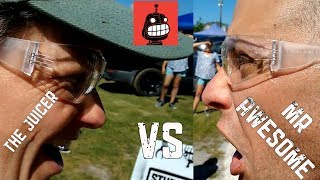 Download The Juicer with The Post Master vs Mr Awesome with Endorphin | Stupid Robot Fighting League Video