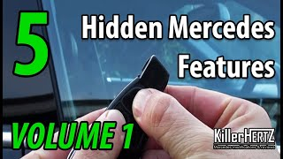 Download 5 Hidden Mercedes functions, tricks & features - Vol 1 Video