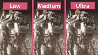 Download Fallout 4 – PC Low vs. Medium vs. High vs. Ultra Detailed Graphics Comparison Video