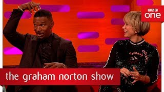 Download Ed Sheeran slept on Jamie Foxx's couch for 6 weeks - The Graham Norton Show: 2017 - BBC One Video