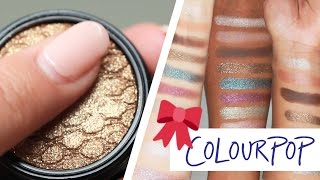Download Different Skin Tones Try ColourPop's Holiday Line Video
