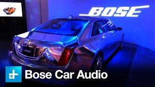 Download Bose engineers 4 tiers of car audio Video