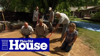 Download How to Build a Round Patio with a Fire Pit - This Old House Video