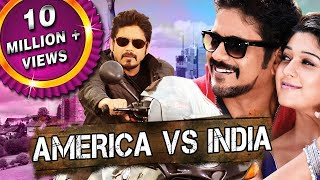 Download America Vs India (Greeku Veerudu) Telugu Hindi Dubbed Full Movie | Nagarjuna, Nayantara Video