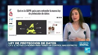 Download La Unión Europea activó la ley de protección de datos en Internet Video