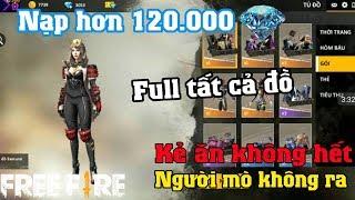 Download Free Fire | Phát Sốt Với Nik Khủng Đầu Tư Hơn 120.000 Kim Cương Full | Meow DGame Video
