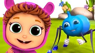 Download Itsy Bitsy Spider | Learn Persistence | Nursery Rhymes Video
