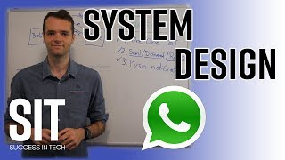 Download System Design: Messenger service like Whatsapp or WeChat - Interview Question Video