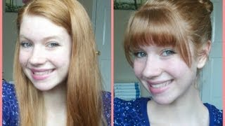 Download How To Cut Your Own Bangs/Fringe at Home! Video