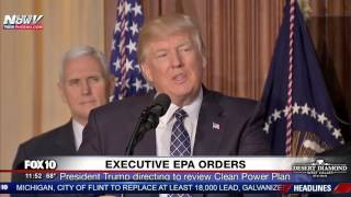 Download WATCH: President Trump Signs Executive EPA Orders Video