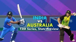 Download India vs Australia, T20I Series: Stats Preview Video