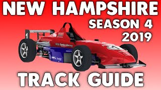 Download iRacing Skip Barber New Hampshire Motor Speedway Road Course with South Oval Track Guide (S4 2019) Video