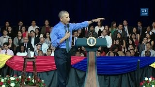 Download Obama Town Hall In Lima, Peru - Full Event Video