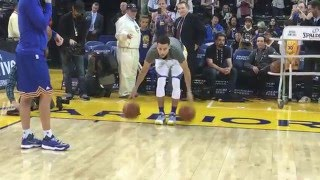 Download Stephen Curry's Full Pre-Game Routine for Trail Blazers/Warriors! Video