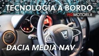 Download Dacia Duster Brave 2017, la prova del Media Nav | Tecnologia a bordo Video