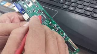How to download V56 universal LED TV board firm ware BIOS Free