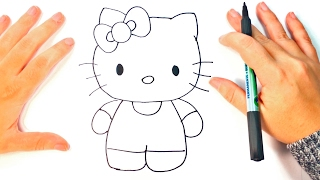 Download How to draw Hello Kitty | Hello Kitty Easy Draw Tutorial Video