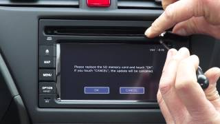 Download Honda SD navigation update manual Video