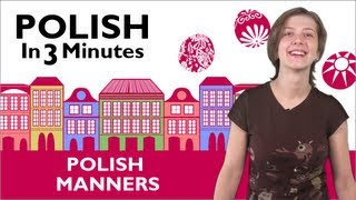 Download Learn Polish - Polish in 3 Minutes - Thank You & You're Welcome in Polish Video