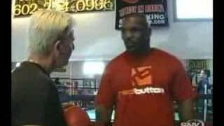 Download Mike Tyson peek a boo style unseen training lesson Video
