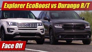 Download Face Off: Ford Explorer EcoBoost vs Dodge Durango HEMI Video