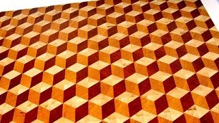 Download Making a 3D end grain cutting board #2 Video