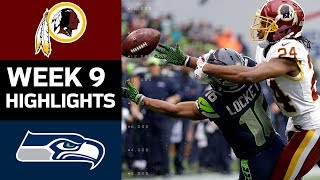 Download Redskins vs. Seahawks | NFL Week 9 Game Highlights Video