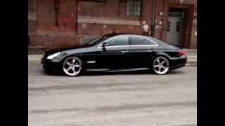 Download MEC Design W219 CLS500 CLS55AMG MEC Design Bodykit + MEC Design wheels 11+12 satin black Video