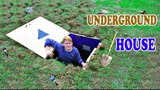 Download Underground House - DIY | How to build a house under the ground Video