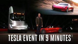 Download Tesla Semi truck and Roadster event in 9 minutes Video