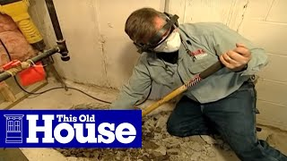 Download How to Install a Sump Pump - This Old House Video
