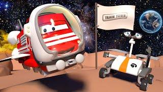 Download Troy de Trein in Autostad 🚄 Troy Reist Door de Ruimte! 🚄 Autostad - Trein cartoons voor kinderen Video