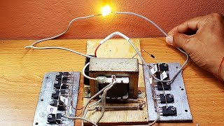 Download How to make High Voltage by using 3A transformer and 10 transistors D718 pnp Video