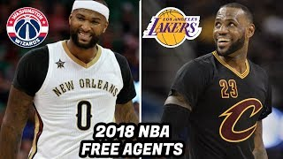 Download 10 NBA Free Agents in 2018 That Will Own the Next NBA Offseason! LeBron, Paul George, Cousins Video