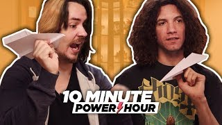 Download Piloting The Perfect Paper Airplane - 10 Minute Power Hour Video