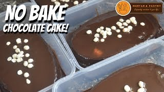 Download NO BAKE CHOCOLATE CAKE! | with Homemade Chocolate Sauce | Ep. 52 | Mortar and Pastry Video