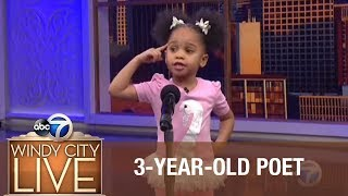 Download 3-year-old blows away audience with poem for Black History Month! Video